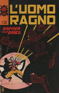 Cover Thumbnail for L' Uomo Ragno [Collana Super-Eroi] (Editoriale Corno, 1970 series) #283