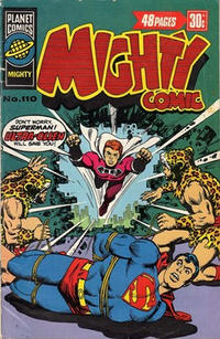 Cover Thumbnail for Mighty Comic (K. G. Murray, 1960 series) #110