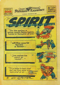 Cover Thumbnail for The Spirit (Register and Tribune Syndicate, 1940 series) #3/29/1942