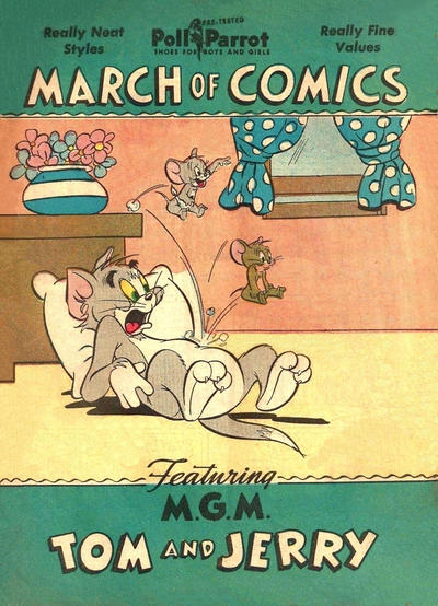 Cover for March of Comics (Western, 1946 series) #61