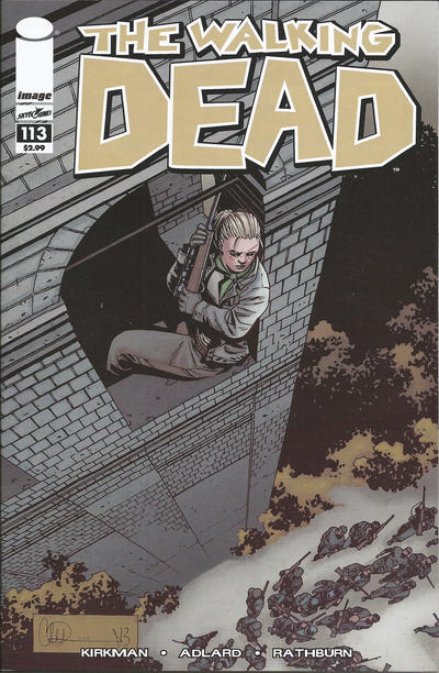 Cover for The Walking Dead (Image, 2003 series) #113