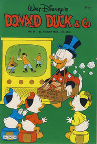 Cover Thumbnail for Donald Duck & Co (Hjemmet, 1948 series) #34/1978