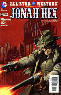 Cover Thumbnail for All Star Western (DC, 2011 series) #23