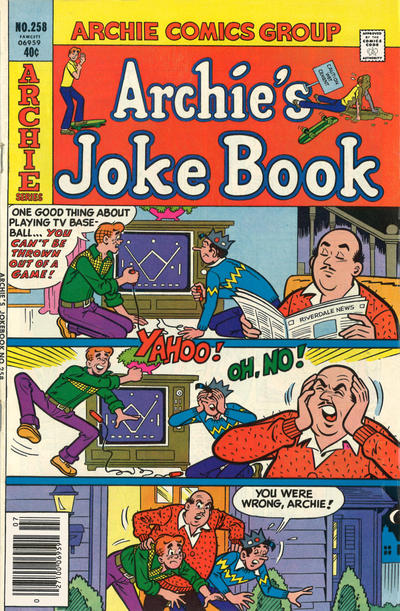Cover for Archie's Joke Book Magazine (Archie, 1953 series) #258