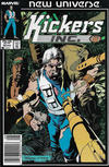 Cover for Kickers, Inc. (Marvel, 1986 series) #10 [Newsstand]