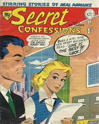 Cover Thumbnail for My Secret Confessions (Alan Class, 1958 ? series) #1