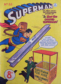 Cover Thumbnail for Superman (K. G. Murray, 1947 series) #55