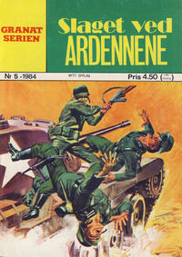 Cover Thumbnail for Granat Serien (Atlantic Forlag, 1976 series) #5/1984