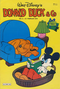 Cover Thumbnail for Donald Duck & Co (Hjemmet, 1948 series) #9/1979