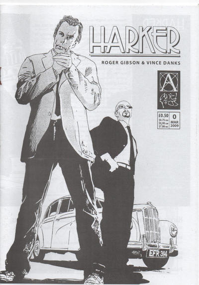 Cover for Harker (Ariel Press, 2009 series) #0