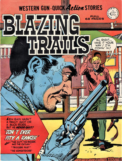 Cover for Blazing Trails (Alan Class, 1965 series) #1