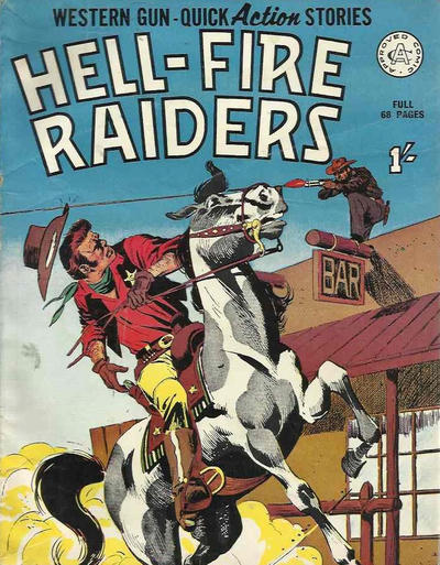 Cover for Hell-Fire Raiders (Alan Class, 1966 series)