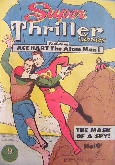 Cover for Super Thriller Comics (Atlas, 1950 series) #19