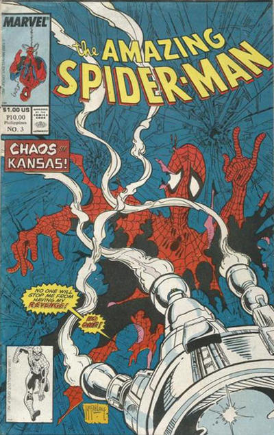 Cover for The Amazing Spider-Man (Atlas Publishing Company, 1988 ? series) #3