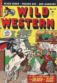 Cover Thumbnail for Wild Western (Bell Features, 1948 series) #13