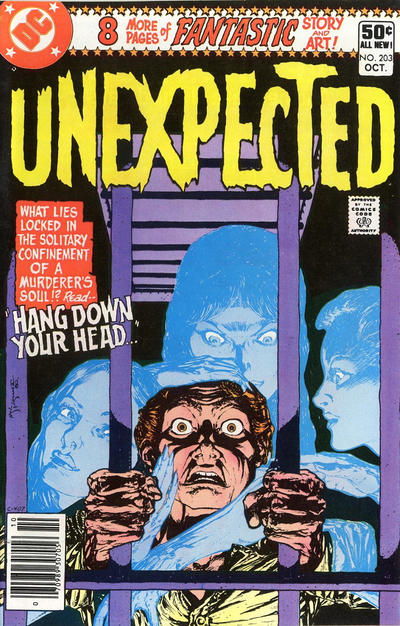 Cover for The Unexpected (DC, 1968 series) #203