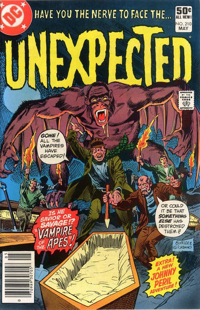 Cover for The Unexpected (DC, 1968 series) #210