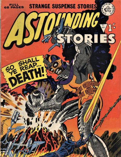 Cover for Astounding Stories (Alan Class, 1966 series) #60