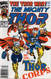Cover for Thor (Marvel, 1966 series) #440 [Newsstand Edition]