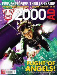 Cover Thumbnail for 2000 AD (Rebellion, 2001 series) #1757