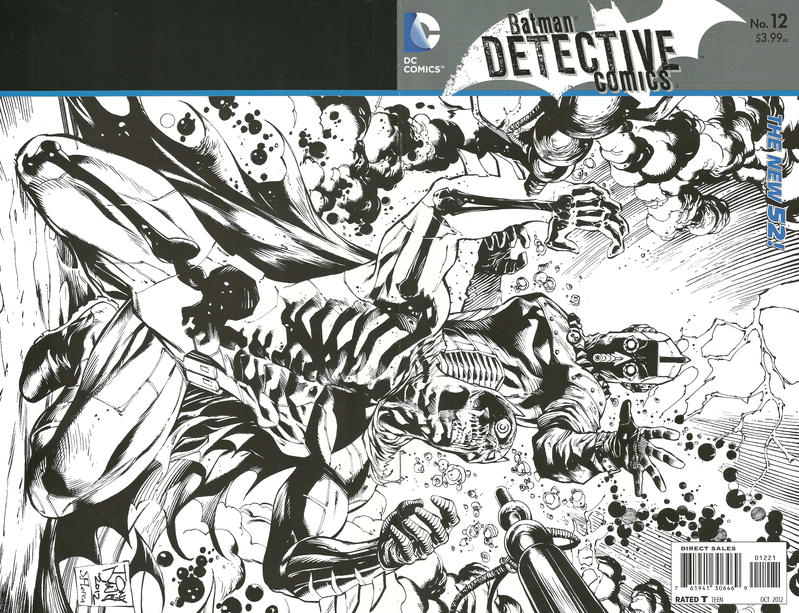 Cover for Detective Comics (DC, 2011 series) #12