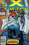 Cover Thumbnail for X-Factor (1986 series) #59 [Newsstand Edition]