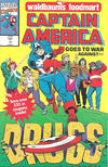 Cover for Captain America Goes to War Against Drugs (Marvel, 1991 series) #1 [Waldbaums]