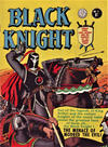 Cover for Black Knight (Horwitz, 1960 ? series) #1