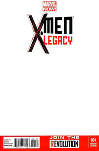 Cover Thumbnail for X-Men Legacy (Marvel, 2013 series) #1 [Blank Cover]