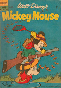 Cover Thumbnail for Walt Disney's Mickey Mouse (W. G. Publications; Wogan Publications, 1956 series) #32