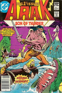 Cover Thumbnail for Arak, Son of Thunder (DC, 1981 series) #1 [newsstand edition]