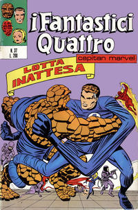 Cover Thumbnail for I Fantastici Quattro (Editoriale Corno, 1971 series) #37