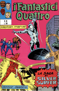 Cover Thumbnail for I Fantastici Quattro (Editoriale Corno, 1971 series) #46