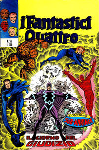 Cover Thumbnail for I Fantastici Quattro (Editoriale Corno, 1971 series) #56