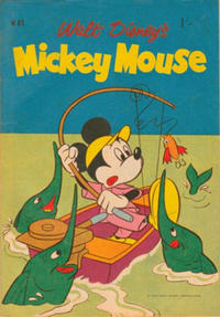 Cover Thumbnail for Walt Disney's Mickey Mouse (W. G. Publications; Wogan Publications, 1956 series) #85
