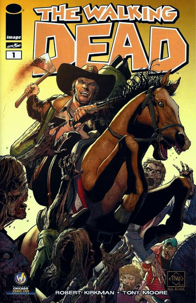 Cover for The Walking Dead (Image, 2003 series) #1 [Wizard World Ohio Comic Con Exclusive by Mike Zeck]