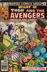 Cover Thumbnail for What If? (Marvel, 1977 series) #25 [Newsstand Edition]