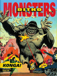 Cover Thumbnail for Ditko Monsters: Konga! (IDW, 2013 series) #[nn]