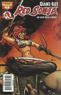 Cover Thumbnail for Giant-Size Red Sonja (Dynamite Entertainment, 2007 series) #1 [Howard Chaykin Cover]