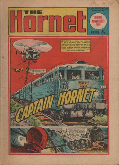 Cover for The Hornet (D.C. Thomson, 1963 series) #498