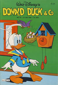 Cover Thumbnail for Donald Duck & Co (Hjemmet / Egmont, 1948 series) #22/1980