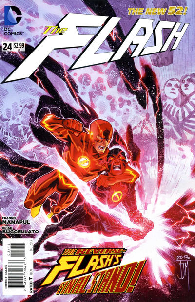 Cover for The Flash (DC, 2011 series) #24