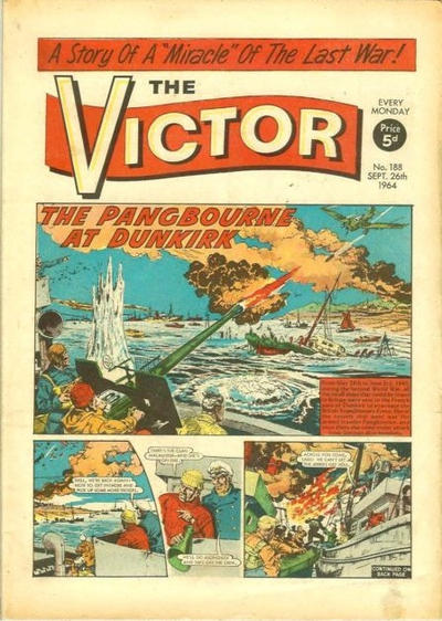 Cover for The Victor (D.C. Thomson, 1961 series) #188