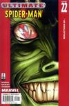 Cover for Ultimate Spider-Man (Marvel, 2000 series) #22