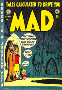 Cover Thumbnail for Mad (EC, 1952 series) #1