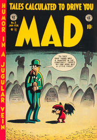 Cover Thumbnail for MAD (EC, 1952 series) #3
