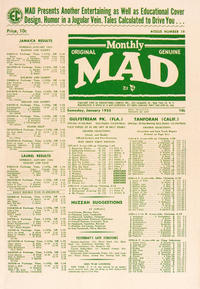 Cover Thumbnail for MAD (EC, 1952 series) #19