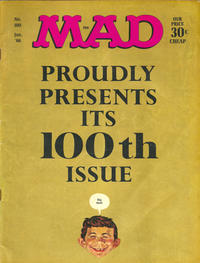 Cover Thumbnail for MAD (EC, 1952 series) #100