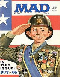 Cover Thumbnail for MAD (EC, 1952 series) #140