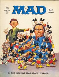 Cover for MAD (EC, 1952 series) #149